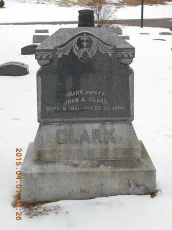 CLARK, MARY - Marquette County, Michigan | MARY CLARK - Michigan Gravestone Photos