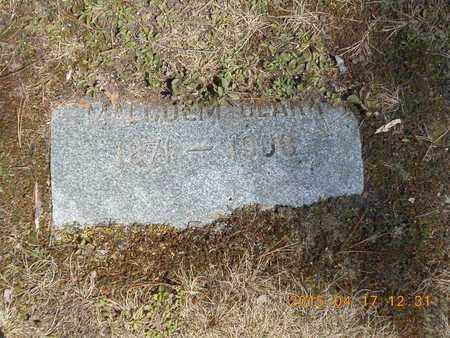 CLARK, MALCOLM - Marquette County, Michigan   MALCOLM CLARK - Michigan Gravestone Photos