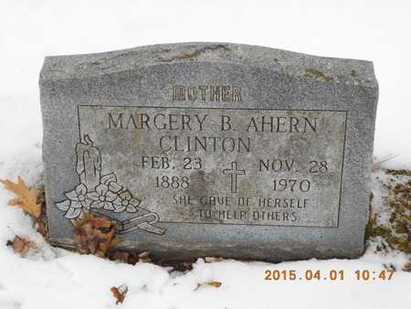 AHERN CLINTON, MARGERY B. - Marquette County, Michigan | MARGERY B. AHERN CLINTON - Michigan Gravestone Photos