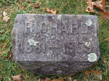 COLES, RICHARD - Marquette County, Michigan   RICHARD COLES - Michigan Gravestone Photos