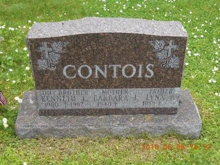CONTOIS, BARBARA J. - Marquette County, Michigan | BARBARA J. CONTOIS - Michigan Gravestone Photos