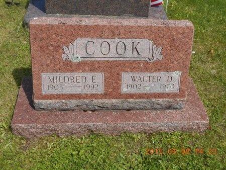 COOK, MILDRED E. - Marquette County, Michigan | MILDRED E. COOK - Michigan Gravestone Photos