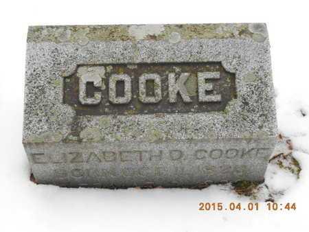 COOKE, ELIZABETH D. - Marquette County, Michigan | ELIZABETH D. COOKE - Michigan Gravestone Photos