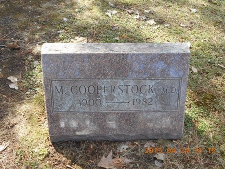COOPERSTOCK, M.D., DR. MOSES - Marquette County, Michigan | DR. MOSES COOPERSTOCK, M.D. - Michigan Gravestone Photos