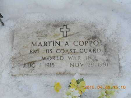 COPPO, MARTIN A. - Marquette County, Michigan | MARTIN A. COPPO - Michigan Gravestone Photos