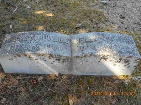 COWLING, THOMAS A. - Marquette County, Michigan | THOMAS A. COWLING - Michigan Gravestone Photos