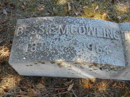 COWLING, BESSIE M. - Marquette County, Michigan   BESSIE M. COWLING - Michigan Gravestone Photos