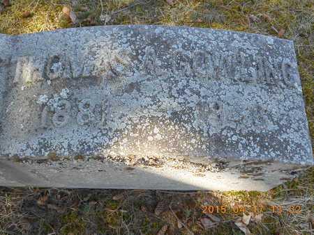COWLING, THOMAS A. - Marquette County, Michigan   THOMAS A. COWLING - Michigan Gravestone Photos
