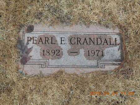 CRANDALL, PEARL E. - Marquette County, Michigan   PEARL E. CRANDALL - Michigan Gravestone Photos