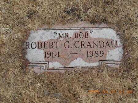 CRANDALL, ROBERT G. - Marquette County, Michigan | ROBERT G. CRANDALL - Michigan Gravestone Photos