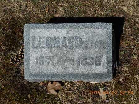 CRARY, II, LEONARD P. - Marquette County, Michigan | LEONARD P. CRARY, II - Michigan Gravestone Photos