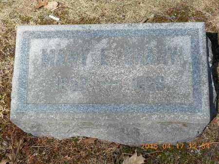 CRARY, MARY E. - Marquette County, Michigan   MARY E. CRARY - Michigan Gravestone Photos