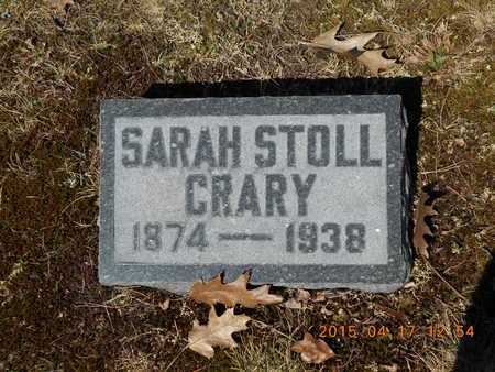 CRARY, SARAH - Marquette County, Michigan | SARAH CRARY - Michigan Gravestone Photos