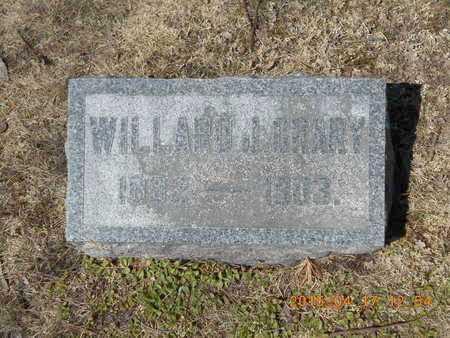 CRARY, WILLARD J. - Marquette County, Michigan   WILLARD J. CRARY - Michigan Gravestone Photos