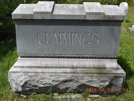 CUMMINGS, FAMILY - Marquette County, Michigan   FAMILY CUMMINGS - Michigan Gravestone Photos
