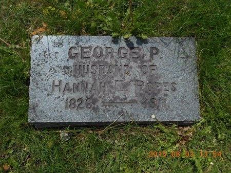 CUMMINGS, GEORGE PERKINS - Marquette County, Michigan   GEORGE PERKINS CUMMINGS - Michigan Gravestone Photos