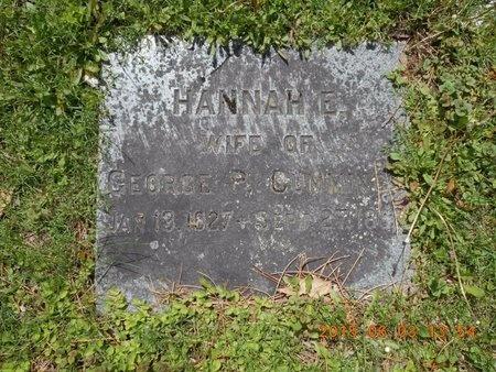 CUMMINGS, HANNAH E. - Marquette County, Michigan | HANNAH E. CUMMINGS - Michigan Gravestone Photos