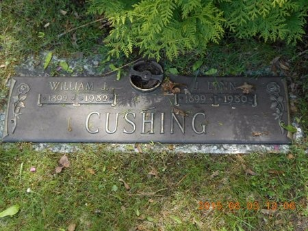 CUSHING, J. LYNN - Marquette County, Michigan | J. LYNN CUSHING - Michigan Gravestone Photos