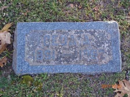 DALLY, BEDA A. - Marquette County, Michigan | BEDA A. DALLY - Michigan Gravestone Photos