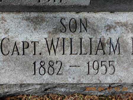 DANIELS, CAPT. WILLIAM - Marquette County, Michigan | CAPT. WILLIAM DANIELS - Michigan Gravestone Photos
