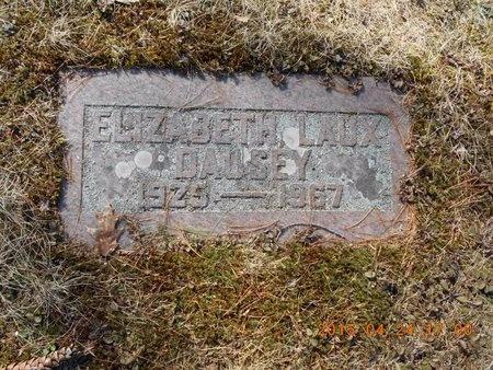 DAUSEY, ELIZABETH - Marquette County, Michigan | ELIZABETH DAUSEY - Michigan Gravestone Photos