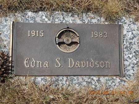 DAVIDSON, EDNA S. - Marquette County, Michigan | EDNA S. DAVIDSON - Michigan Gravestone Photos