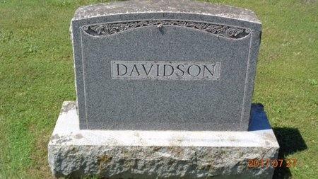 DAVIDSON, FAMILY - Marquette County, Michigan | FAMILY DAVIDSON - Michigan Gravestone Photos