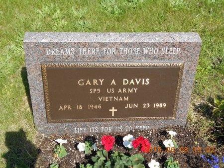 DAVIS, GARY A. - Marquette County, Michigan | GARY A. DAVIS - Michigan Gravestone Photos