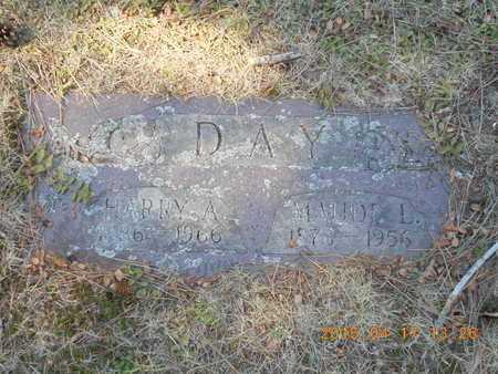 DAY, MAUDE L. - Marquette County, Michigan | MAUDE L. DAY - Michigan Gravestone Photos