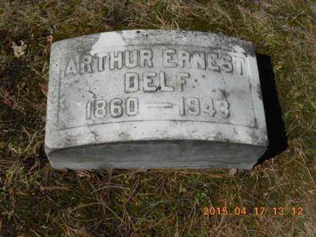 DELF, ALBERT ERNEST - Marquette County, Michigan   ALBERT ERNEST DELF - Michigan Gravestone Photos