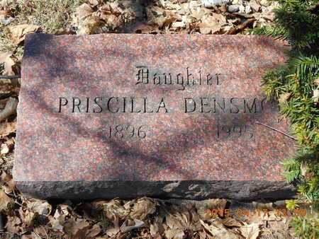 DENSMORE, PRISCILLA - Marquette County, Michigan | PRISCILLA DENSMORE - Michigan Gravestone Photos