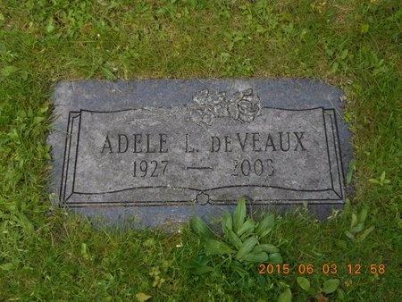 DEVEAUX, ADELE L. - Marquette County, Michigan   ADELE L. DEVEAUX - Michigan Gravestone Photos