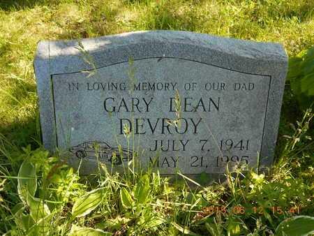 DEVROY, GARY DEAN - Marquette County, Michigan | GARY DEAN DEVROY - Michigan Gravestone Photos