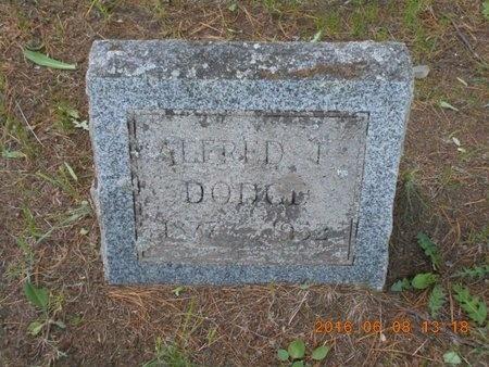 DODGE, ALFRED FRANCIS - Marquette County, Michigan | ALFRED FRANCIS DODGE - Michigan Gravestone Photos