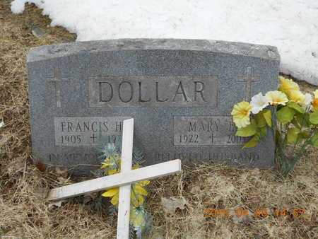 DOLLAR, FRANCIS H. - Marquette County, Michigan | FRANCIS H. DOLLAR - Michigan Gravestone Photos