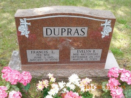 DUPRAS, FRANCIS L. - Marquette County, Michigan   FRANCIS L. DUPRAS - Michigan Gravestone Photos