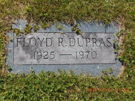 DUPRAS, FLOYD R. - Marquette County, Michigan | FLOYD R. DUPRAS - Michigan Gravestone Photos