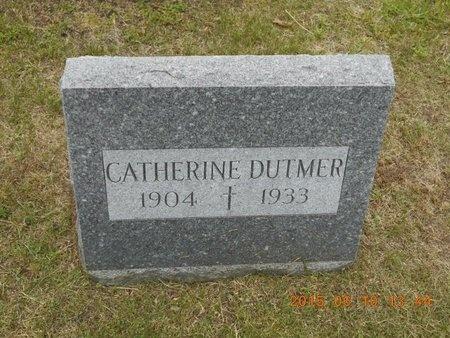 DUTMER, CATHERINE - Marquette County, Michigan | CATHERINE DUTMER - Michigan Gravestone Photos