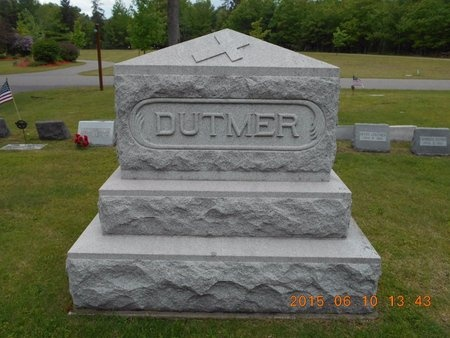 DUTMER, FAMILY - Marquette County, Michigan | FAMILY DUTMER - Michigan Gravestone Photos