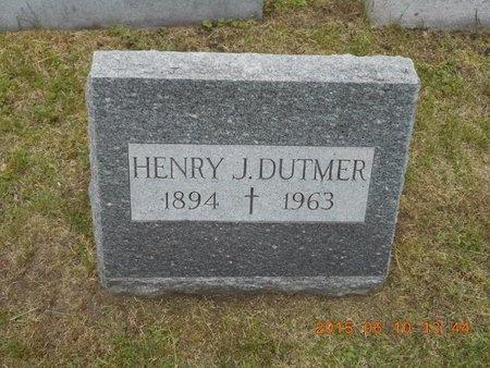 DUTMER, HENRY J. - Marquette County, Michigan | HENRY J. DUTMER - Michigan Gravestone Photos