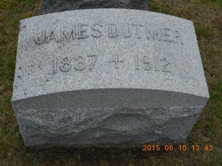 DUTMER, JAMES - Marquette County, Michigan | JAMES DUTMER - Michigan Gravestone Photos
