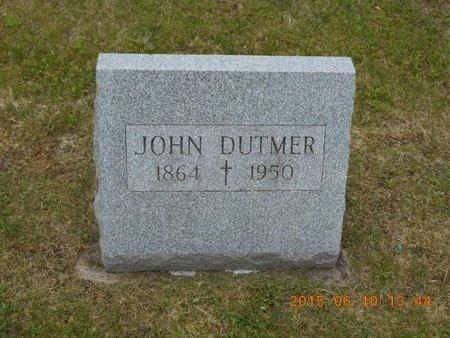 DUTMER, JOHN - Marquette County, Michigan | JOHN DUTMER - Michigan Gravestone Photos