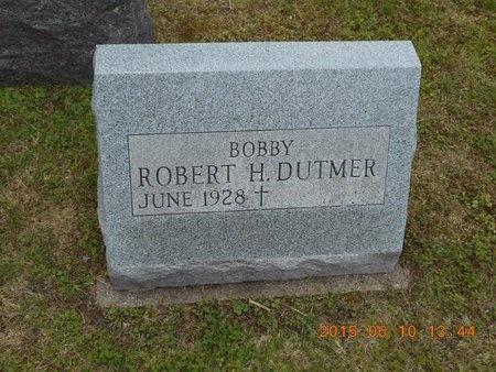 DUTMER, ROBERT H. - Marquette County, Michigan | ROBERT H. DUTMER - Michigan Gravestone Photos