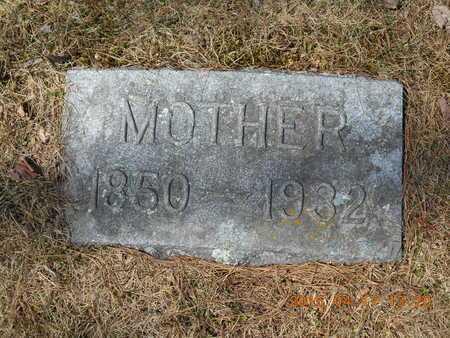 ECKSTROM, ANNA K. - Marquette County, Michigan | ANNA K. ECKSTROM - Michigan Gravestone Photos