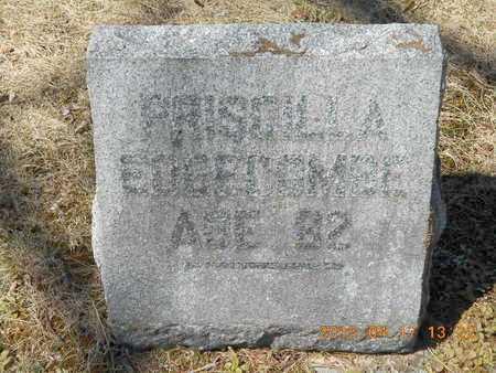 EDGECOMBE, PRISCILLA - Marquette County, Michigan   PRISCILLA EDGECOMBE - Michigan Gravestone Photos