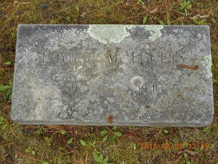 EGGERS, EDYTHE M. - Marquette County, Michigan | EDYTHE M. EGGERS - Michigan Gravestone Photos