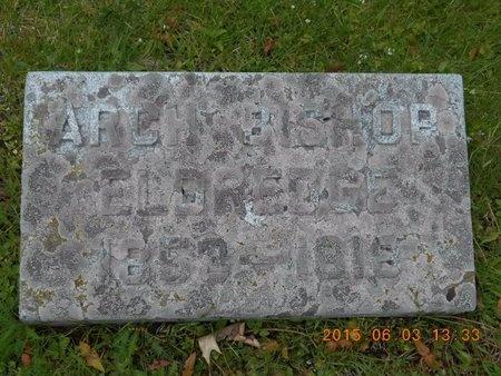 ELDREDGE, ARCH BISHOP - Marquette County, Michigan | ARCH BISHOP ELDREDGE - Michigan Gravestone Photos