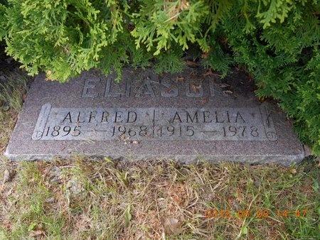 ELIASON, AMELIA - Marquette County, Michigan   AMELIA ELIASON - Michigan Gravestone Photos