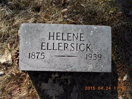 ELLERSICK, HELENE - Marquette County, Michigan | HELENE ELLERSICK - Michigan Gravestone Photos