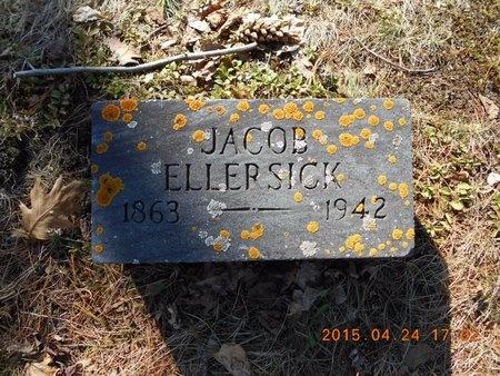ELLERSICK, JACOB - Marquette County, Michigan | JACOB ELLERSICK - Michigan Gravestone Photos
